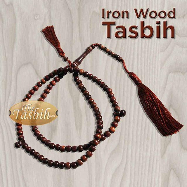 Small Ironwood Stigi Tasbih with Matching Tassels