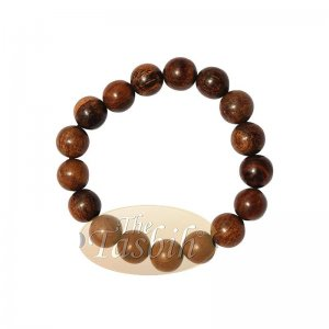Large Exotic Oud Aloeswood Gaharu 12mm Bead Bracelet