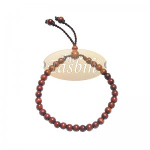 Handmade Ironwood Stigi 6mm Exotic 33-bead Bracelet Tasbih