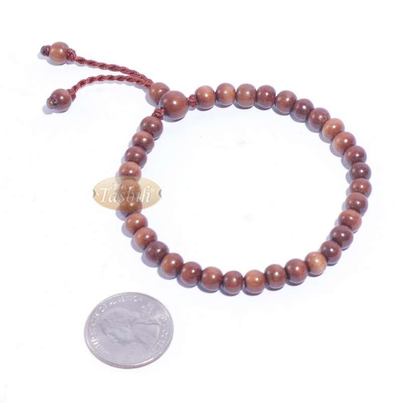 Handmade Ironwood Stigi 6mm Exotic 33-bead Bracelet Tasbih