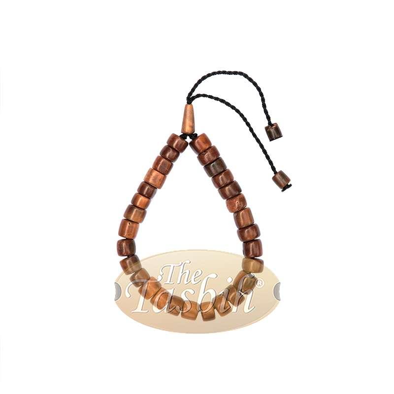 Adjustable Length Cylinder Bead Koka Bracelet