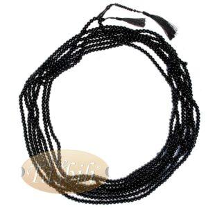 1000-Bead Citrus Wood (kemuning) Tasbih – 8mm Prayer Beads – Subha Misbaha With Beautiful Black Tassels