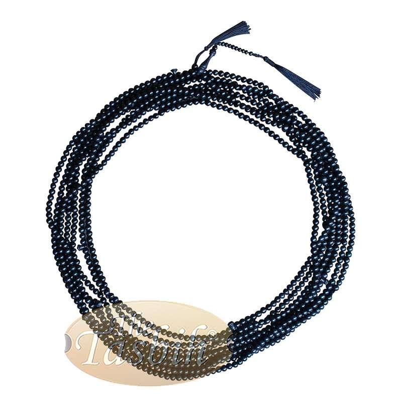 Limited Edition 1000-Bead Exotic Black Citrus Tasbih Wood Crafted Tasbih Prayer Beads