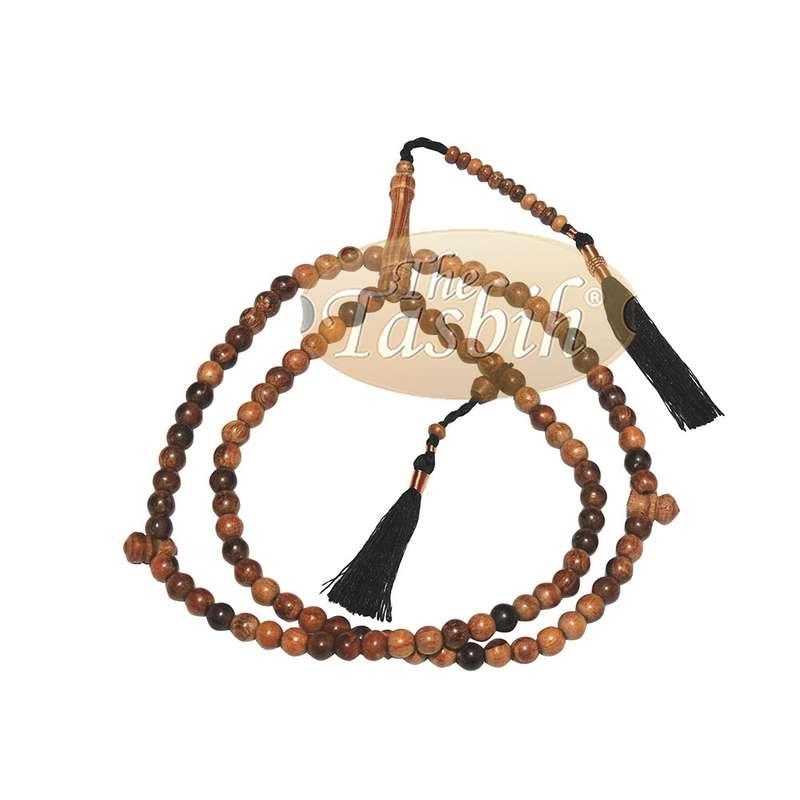 Prayer Beads Dhikr 8mm Oud Aloeswood Agarwood Tasbih with Tassels