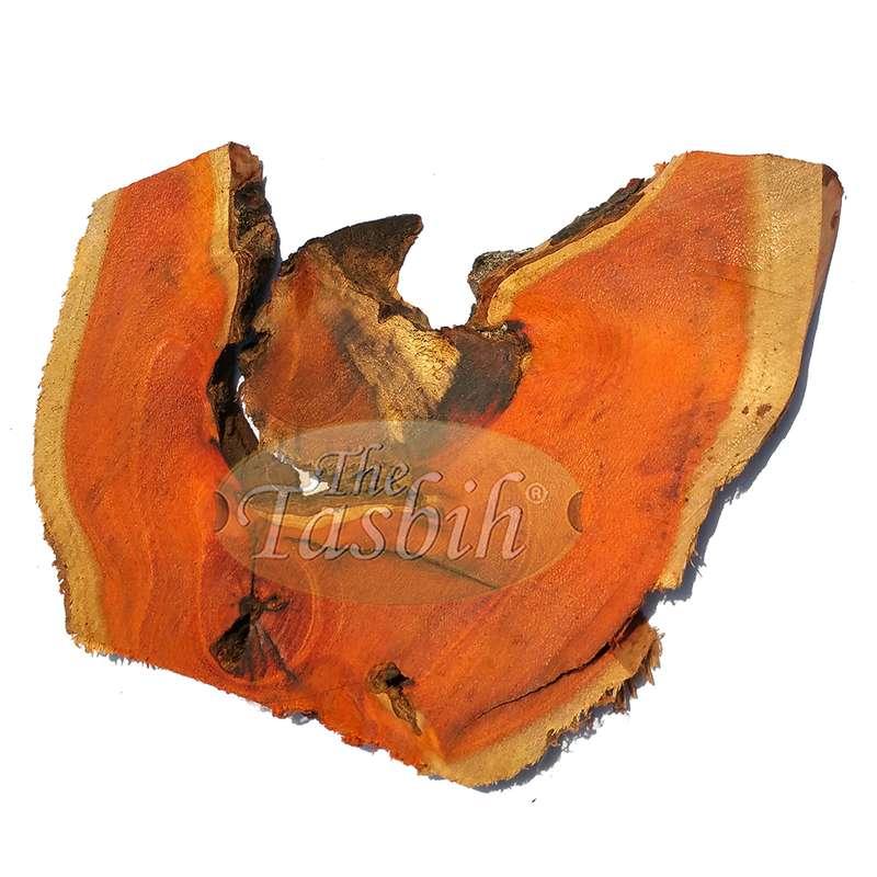 Natural Orange 8mm Indonesian Secang Wood Tasbih Prayer Beads 99 count