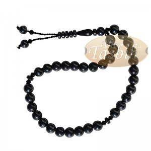 33-bead Tesbih Hematite 8mm Round Beads Prayer Beads Zikr Beads