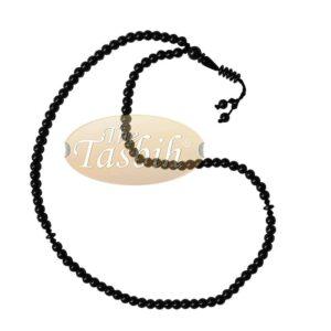 99-Bead Tasbih Made From Natural Hematine 6mm Round Beads With Dividers Prayer Beads Zikr Beads Muslim Rosary