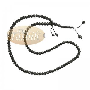 Large 99-bead Tasbih Hematine Stone 8.5mm Beads With Place Marker