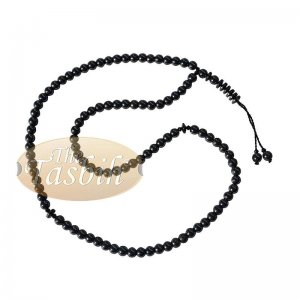 Hematine 8mm Natural Stone 99-Beads Tasbih Prayer Beads