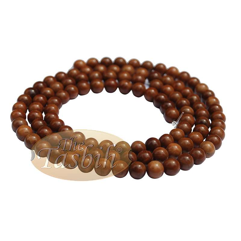 108 Wood Beads of 8mm Original Exotic Koka Kuka Seeds