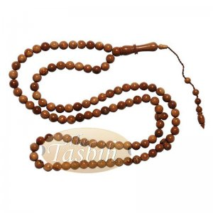 Limited Edition Exotic Kuka Tasbih Prayer Beads With 99-ct 6mm Beads – Beautifully Carved Alif With Rings
