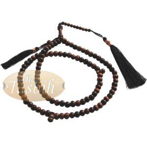 Stigi Ironwood 8mm Prayer Beads 99-bead And Copper Decorated Tassel