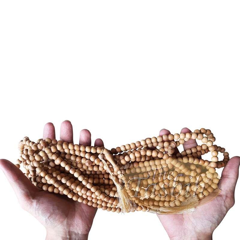 Limited Edition 1000-Bead Exotic Sandalwood Tasbih Wood Crafted Tasbih Prayer Beads