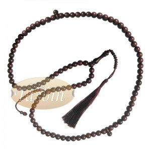Large 12mm Tamarind Wood Tasbih With Matching Tassels