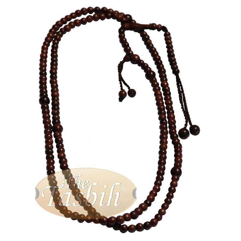 Natural Unique Naqshbandi Tariqah Tasbih Tamarind 6mm Prayer Beads