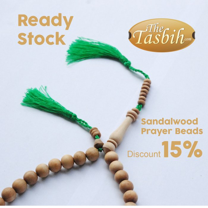 Sandalwood Prayer Beads