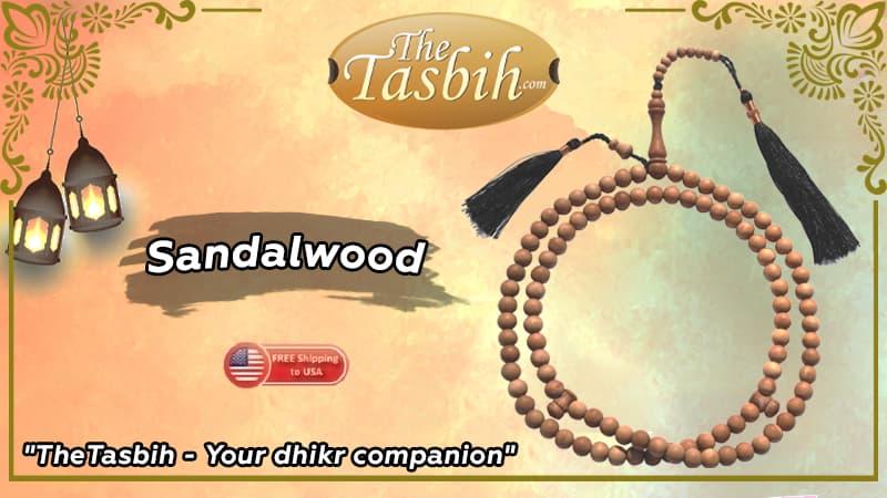 Sandalwood Tasbihs