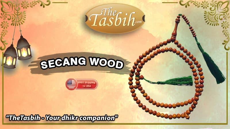 Secang Wood Tasbihs