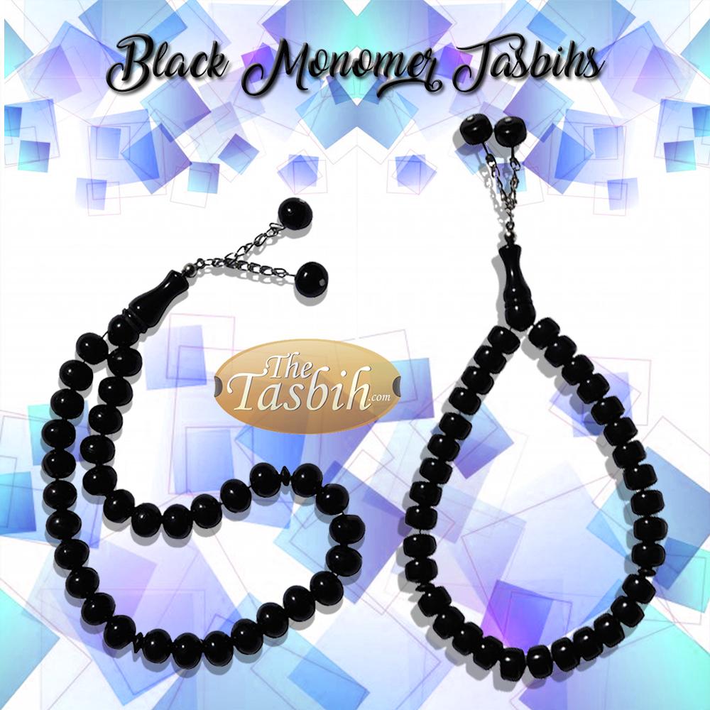 Black Monomer Tasbih